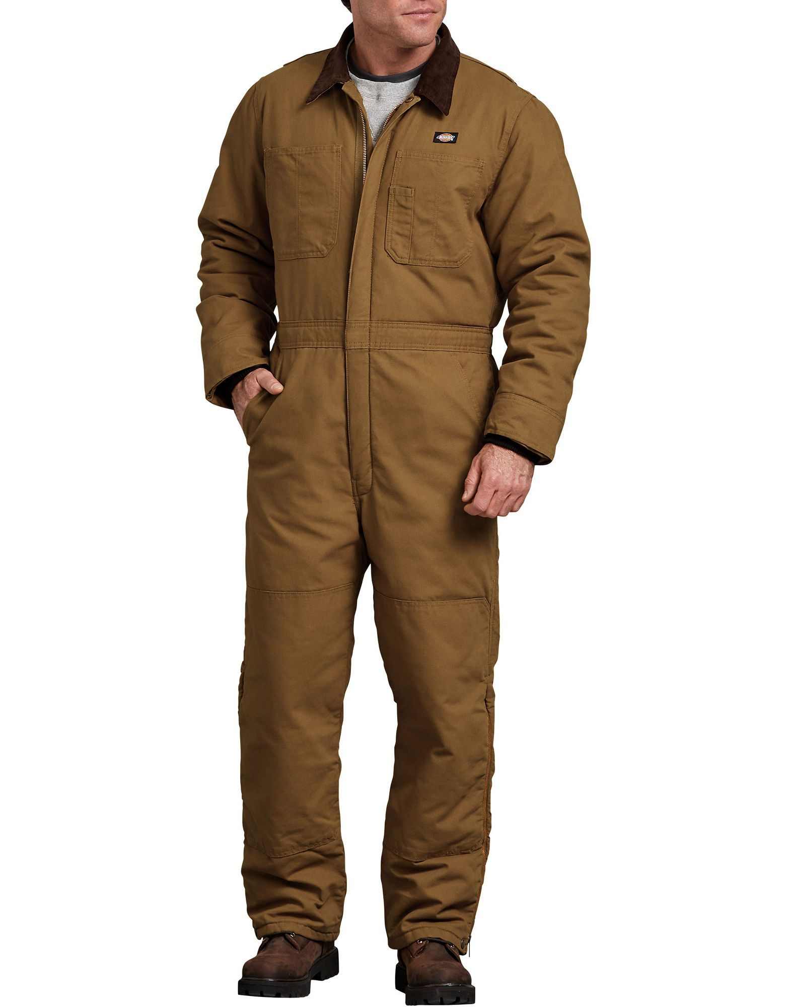 sanded duck insulated coveralls insulated coveralls on insulated overalls id=76175
