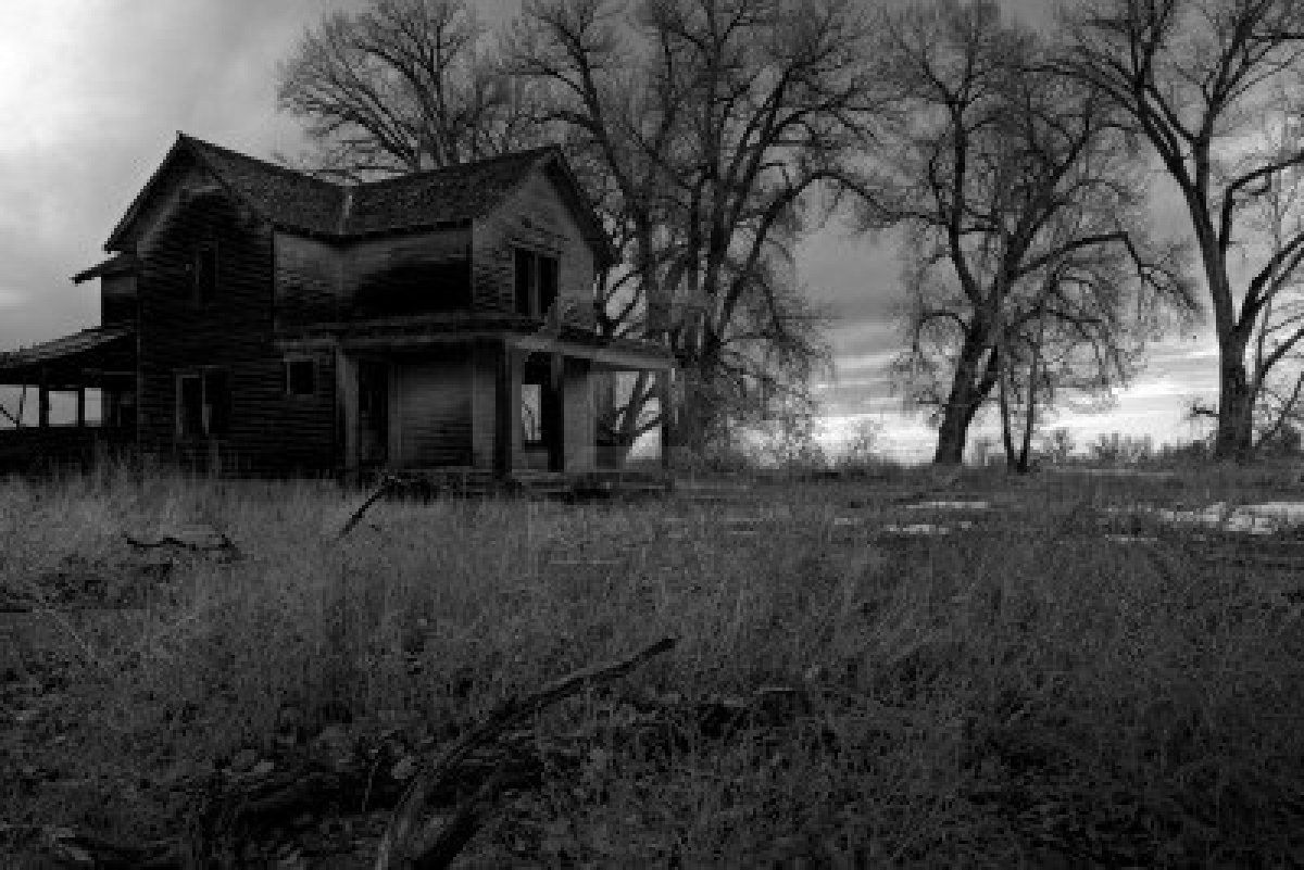 Haunted house in wyoming countryside ghosts hauntings for Pinterest haunted house