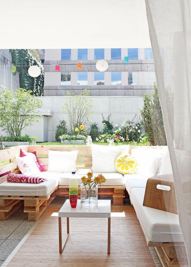 Blick Nach Draußen | Gärten, Deko Und Terrasse Deko Im Outdoor Bereich Einrichtung Ideen