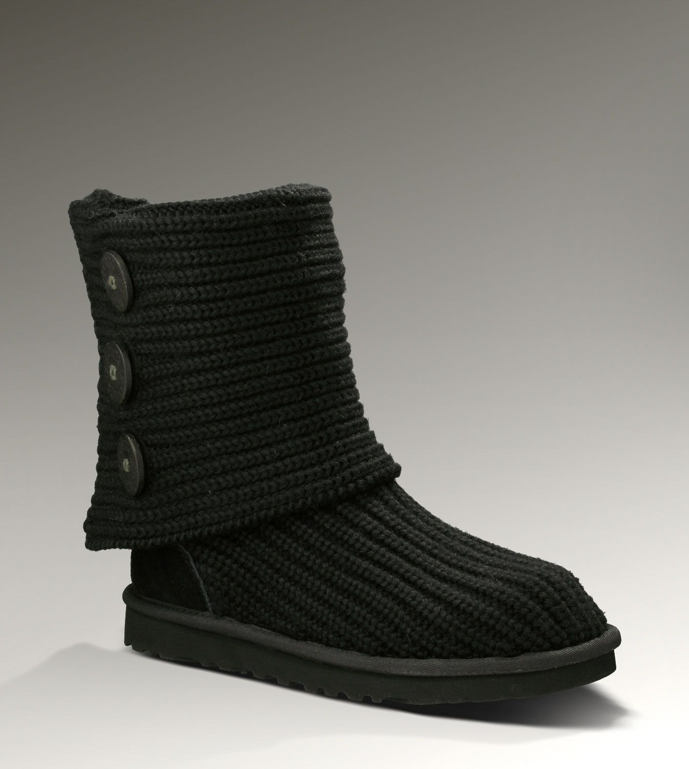 Ugg Classic Cardy 5819 Boots | Ugg classic cardy, Knit ugg