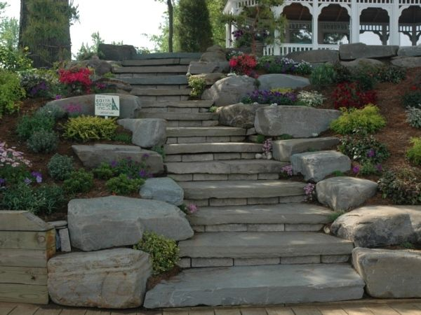 Landscaping Stone Maryland : Landscape boulders will definitely bring out the beauty