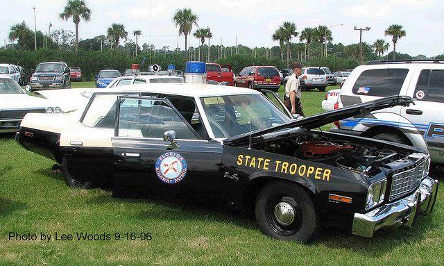 Florida Highway Patrol Police Cars Emergency Vehicles Old Police Cars