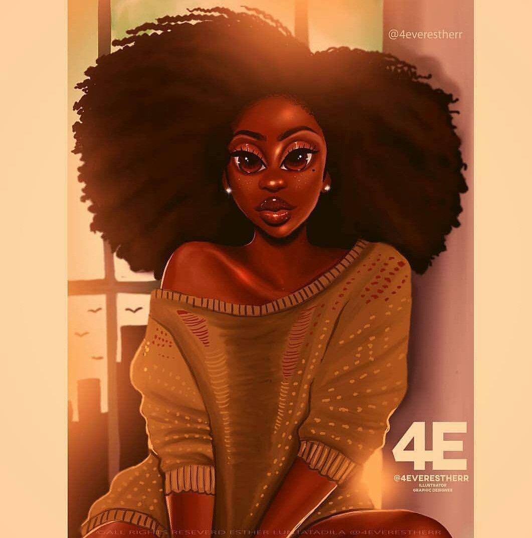 épinglé Sur Afro Art