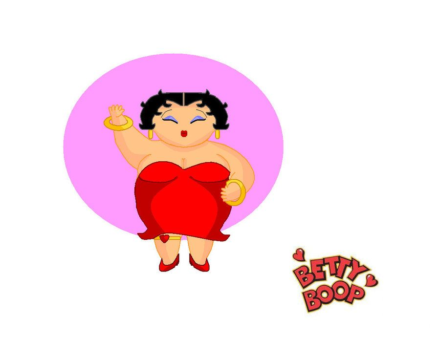Betty Boop in drag!