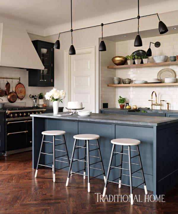 Traditionalhome Design Ideas: A Designer's Updated Manhattan Kitchen