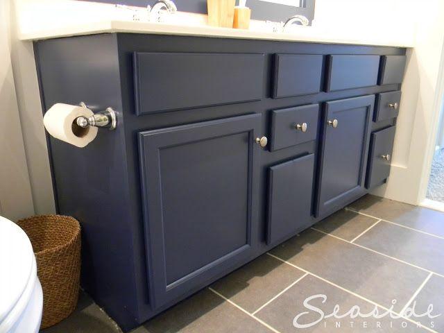 sherwin williams indigo batik in satin finish paint the cabinets basement nautical. Black Bedroom Furniture Sets. Home Design Ideas