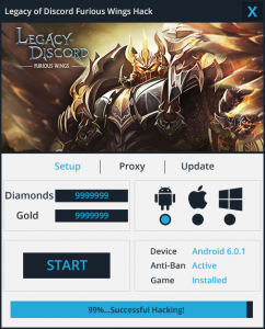 Legacy of Discord Furious Wings Hack Cheat   Hack with App   App in