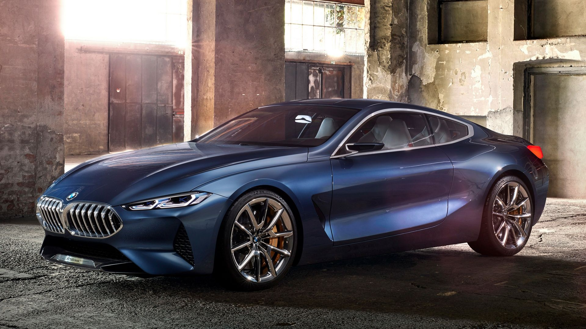 Upcoming Bmw 8 Series Coupe Previewed With The Concorso Concept 8