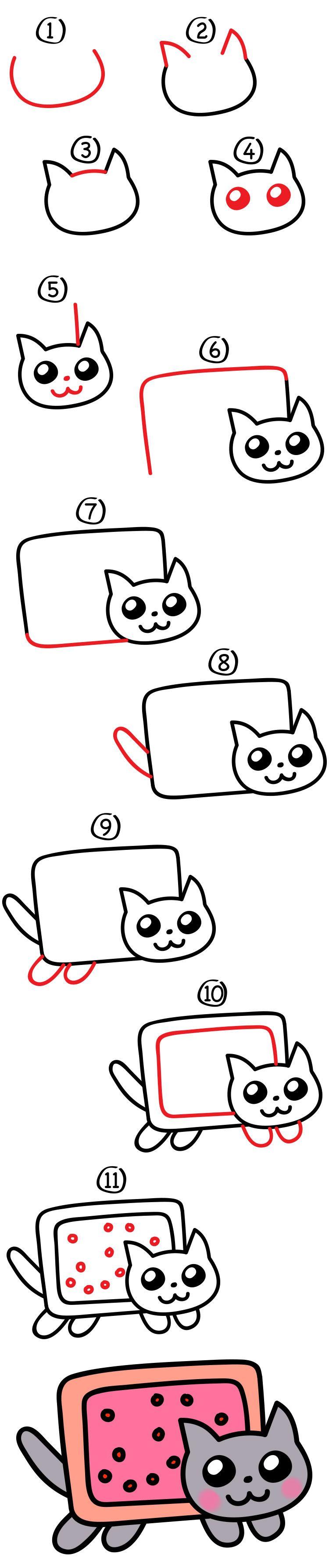 Pingl par jeanne peillex sur coloriage dessin comment - Apprendre a dessiner des animaux mignon ...