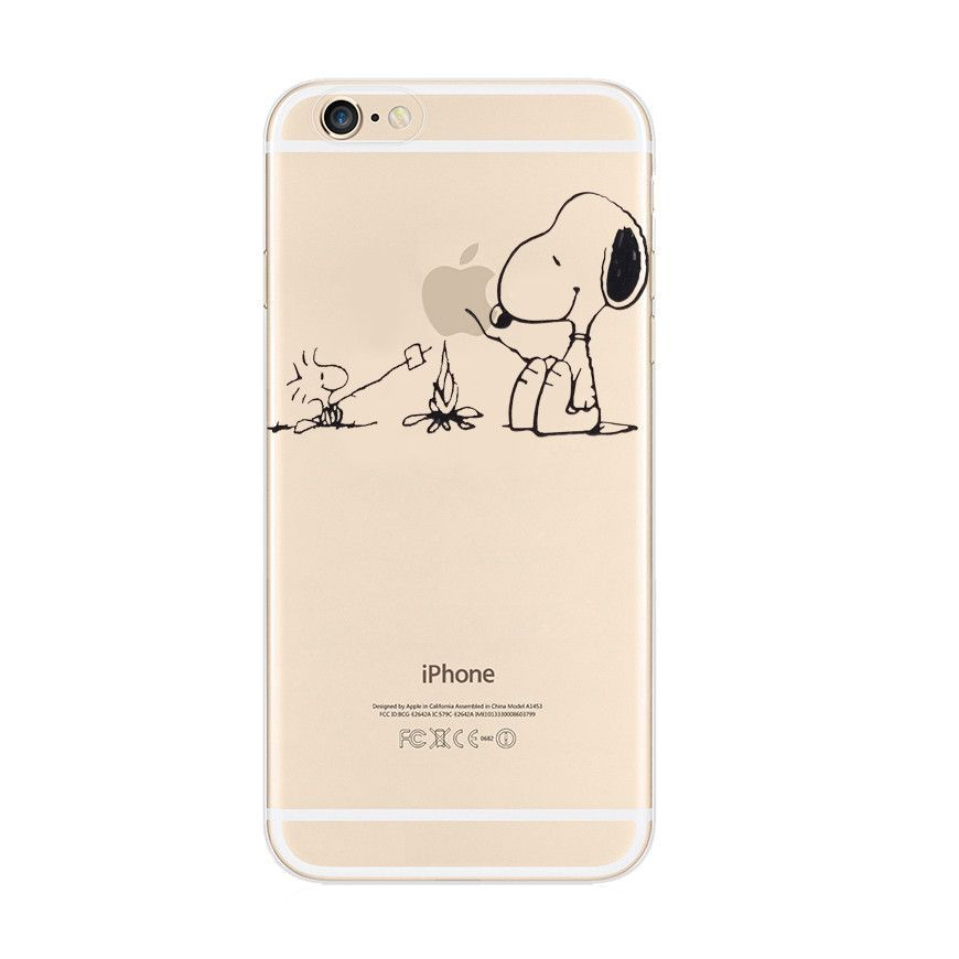 Snoopy Barbecue Woodstock iPhone 6s 6 Plus Soft Clear Case   Cool ...
