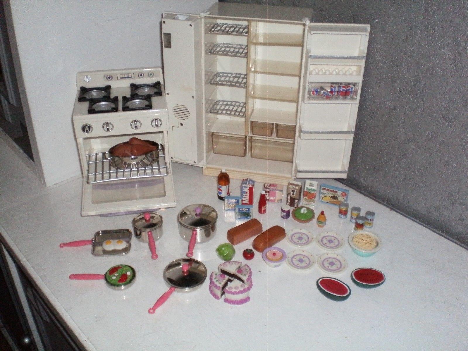 jouet cuisine pour poupee barbie famosa bella delavennatdinette - Cuisine Barbie