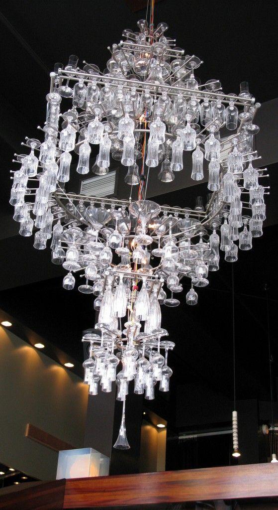 Wow amazing glassware chandelier pullman restaurant montreal amazing glassware chandelier pullman restaurant montreal quebec mozeypictures Gallery