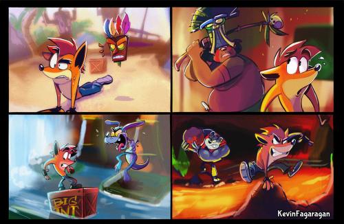 Image Result For Crash Bandicoot N Sane Trilogy Concept Art Crash Bandicoot Crash Bandicoot Characters Bandicoot
