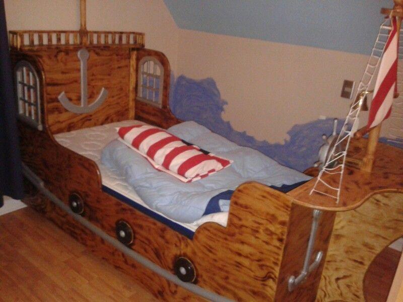 Cama barco pirata | Beds | Pinterest | Cama barco pirata, Barco ...