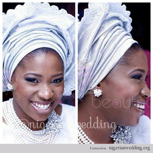 Trend Alert African Decor: Nigerian Wedding Trend Alert: All White For Traditional