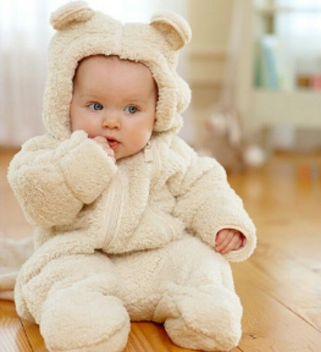 75b976dd014f I need to find a Teddy bear outfit for baby Kirk! So adorable for a little  winter baby.