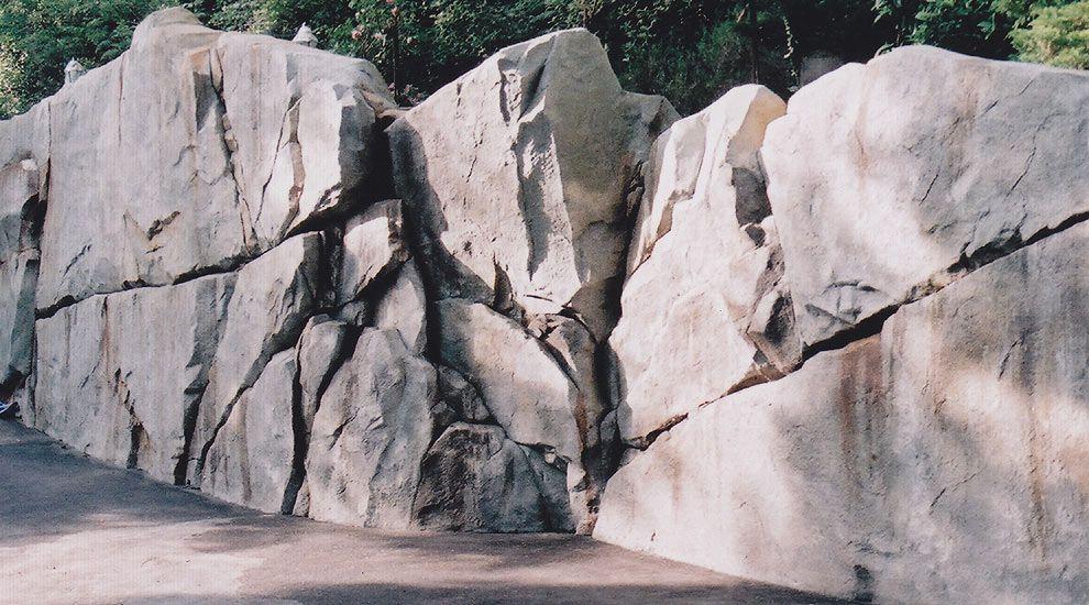 Custom Rockwork Retaining Walls Faux Rock Concrete Art Fake Rock
