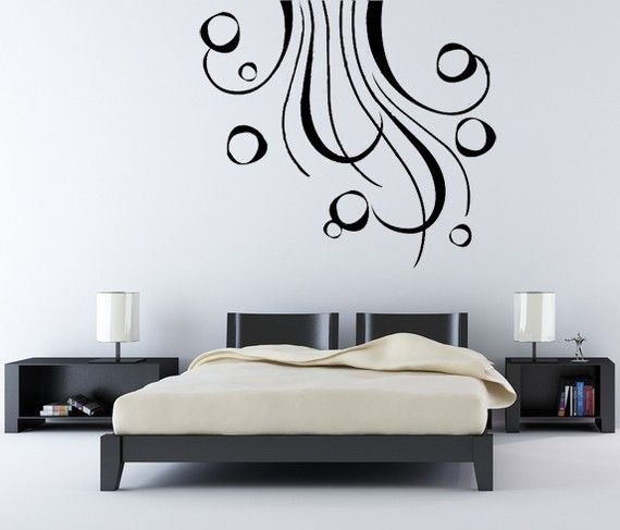 Abstract Wall Decals Abstract Art Vinyl Wall Art Decal Vinyl