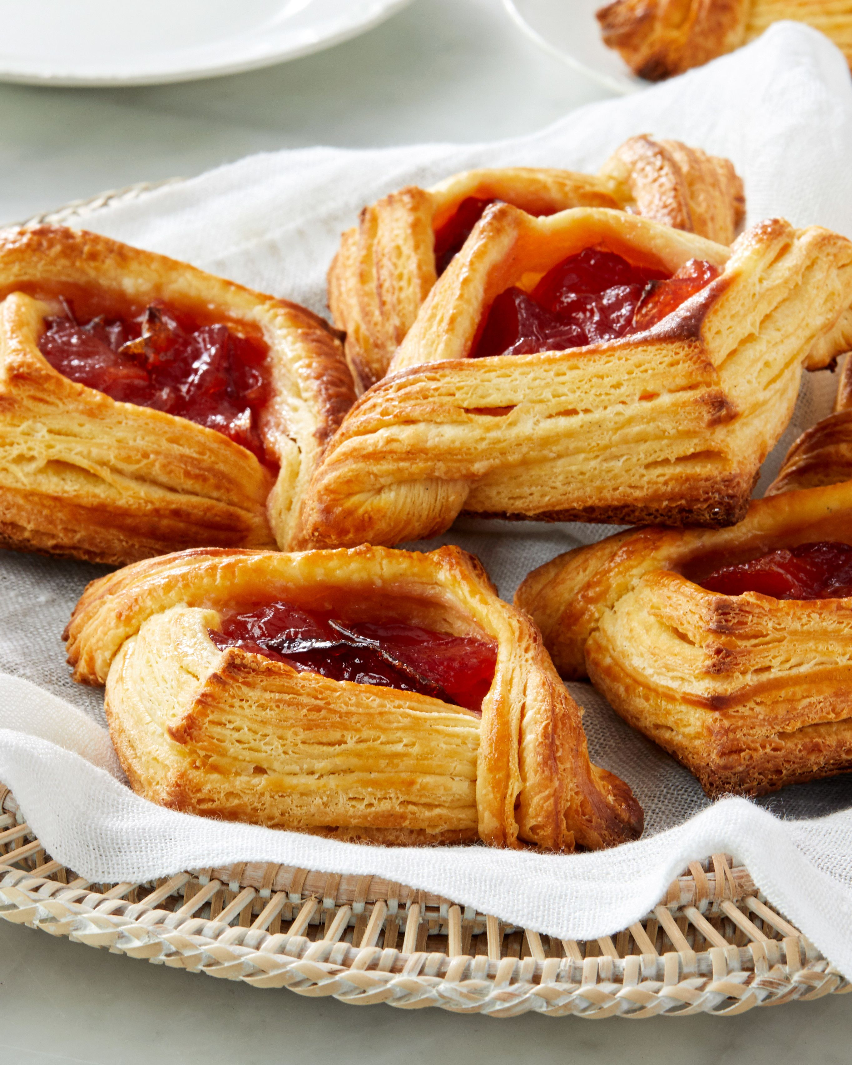 Jam Filled Croustades Recipe With Images Breakfast Pastries