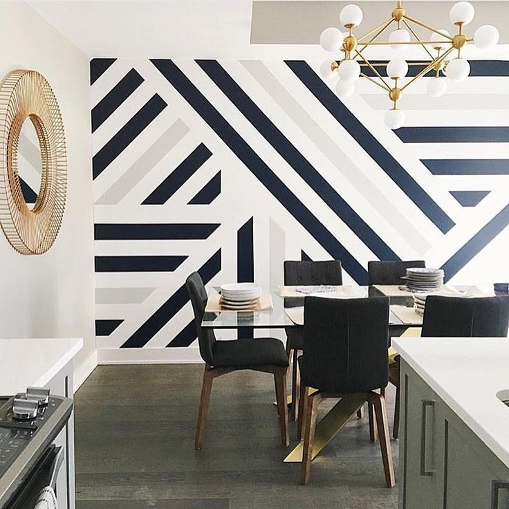 Metropolitan Home sur Instagram: «Graphiques et audacieux en noir, blanc et or. ...