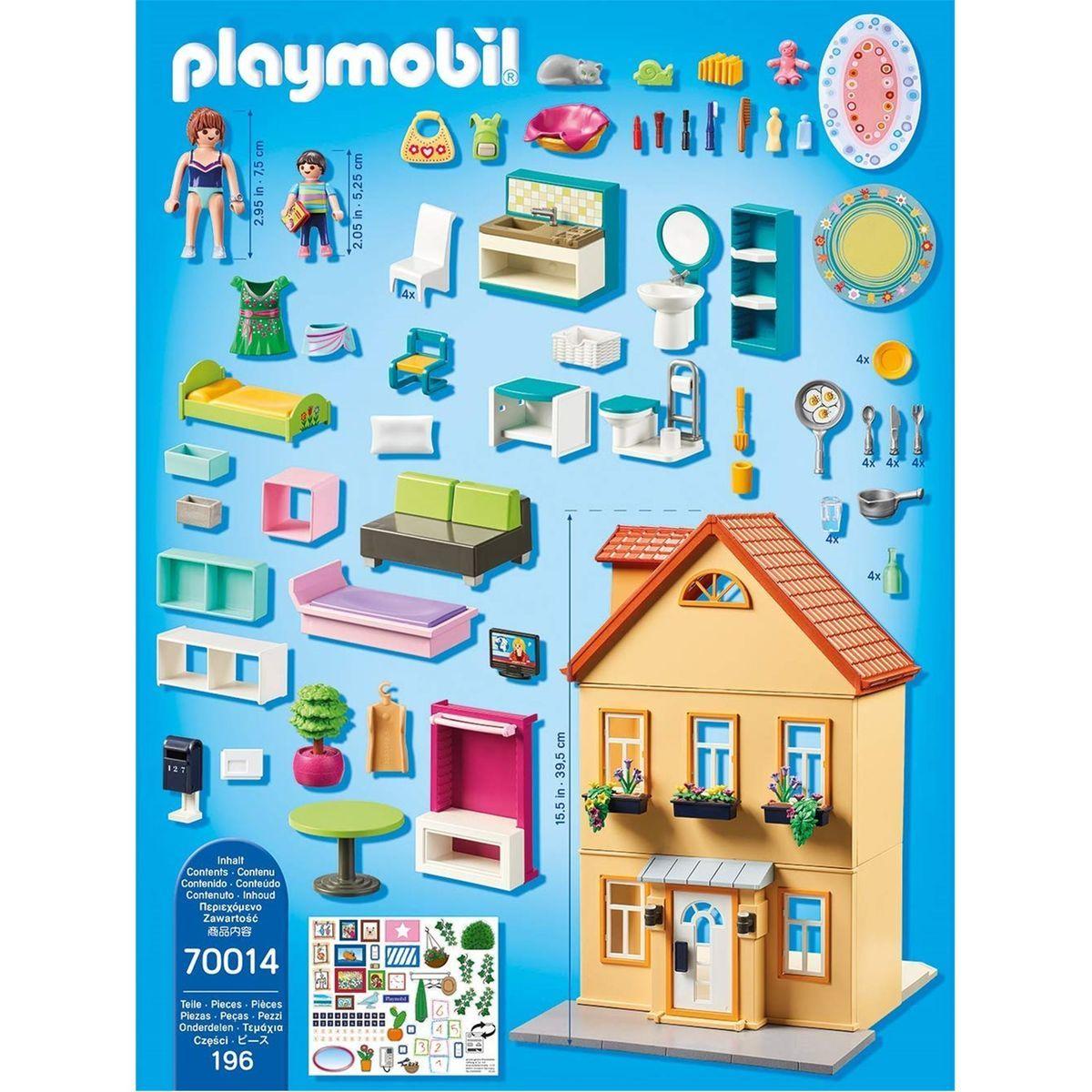 Playmobil 9 City Life - Maison De Ville - Taille : Taille