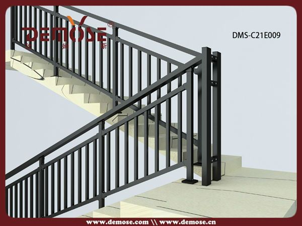 Simple Wrought Iron Interior Stair Railing Design Buy Interior