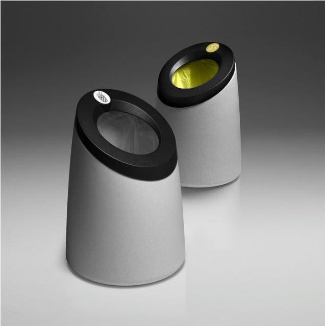 Poubelle De Tri Selectif Pour Espaces Publics Moai By Magma Design