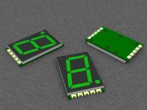 Single Digit 7 Segment Green Led Display Green Led Pcb Design Software Printed Circuit Boards