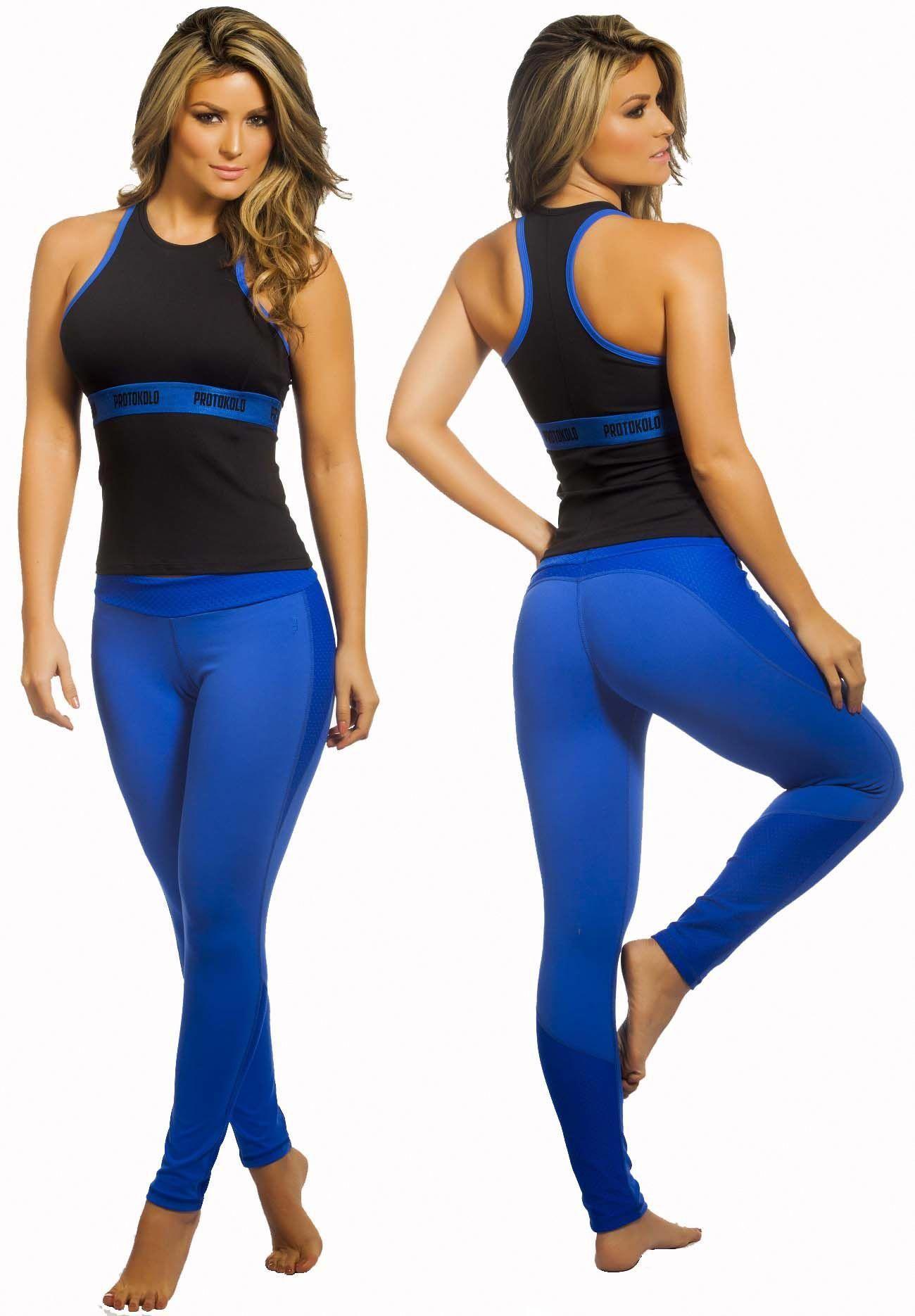 e3b44fc3549 Protokolo 064 Women Casual Wear Sports Clothing Activewear Workout ...