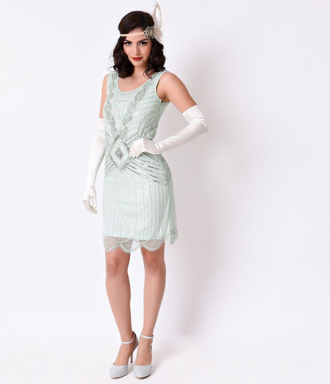 Berühmt Flapper Inspired Cocktail Dress Ideen - Brautkleider Ideen ...