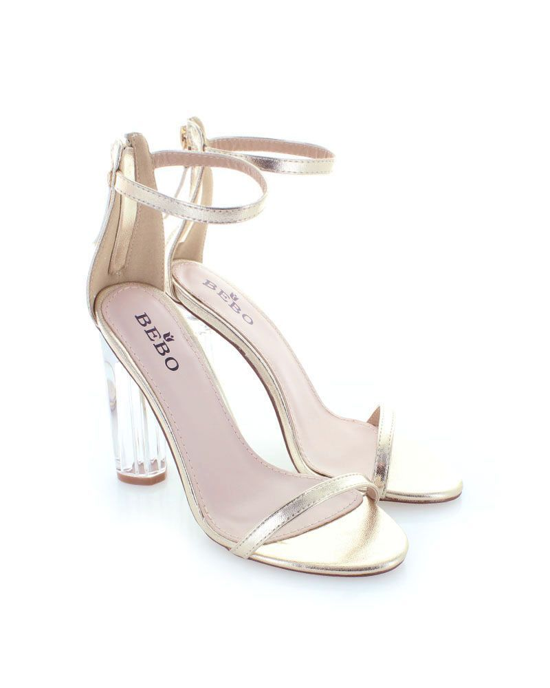 faf0f7b3fd Zlaté sandále Lydia