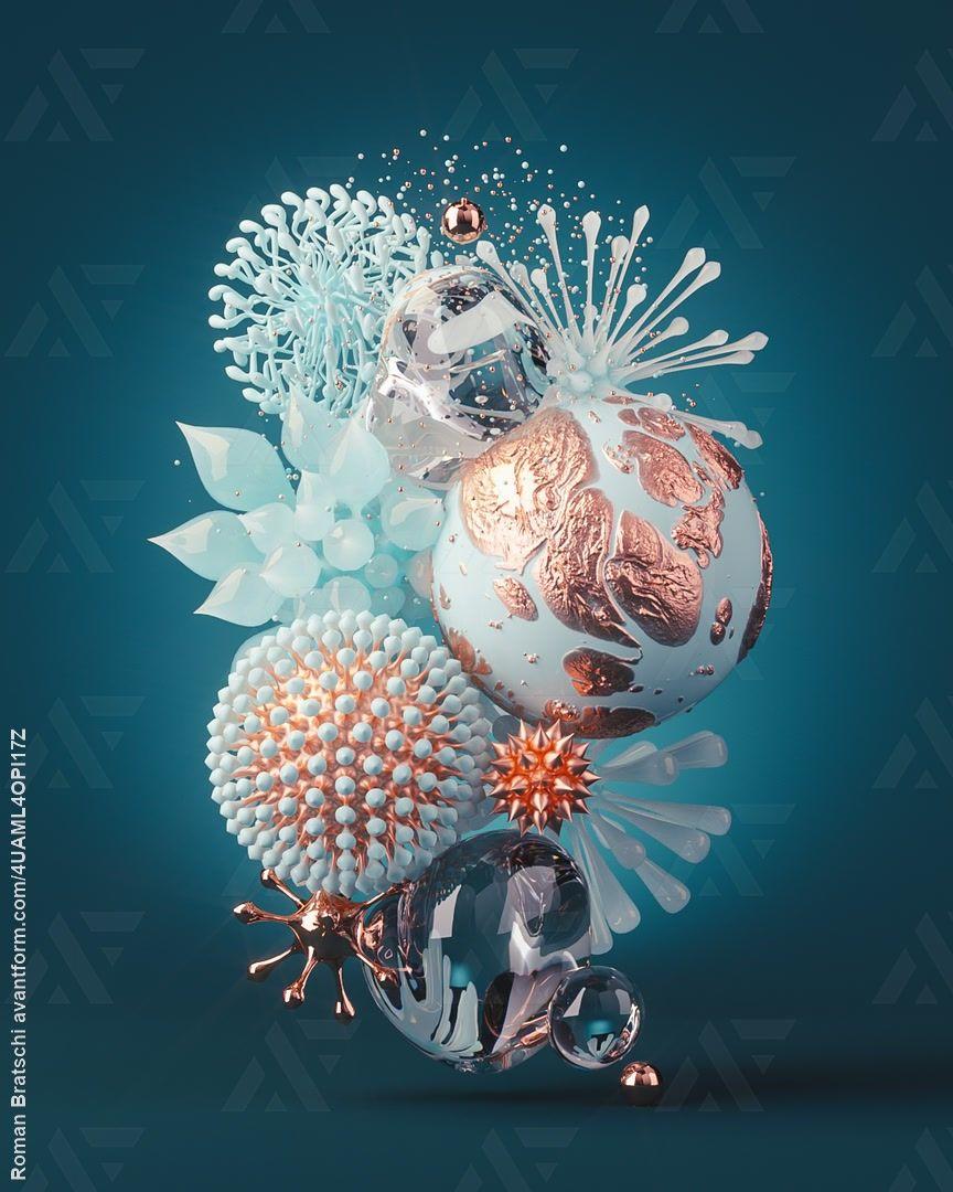 N°351 Abstract Virus