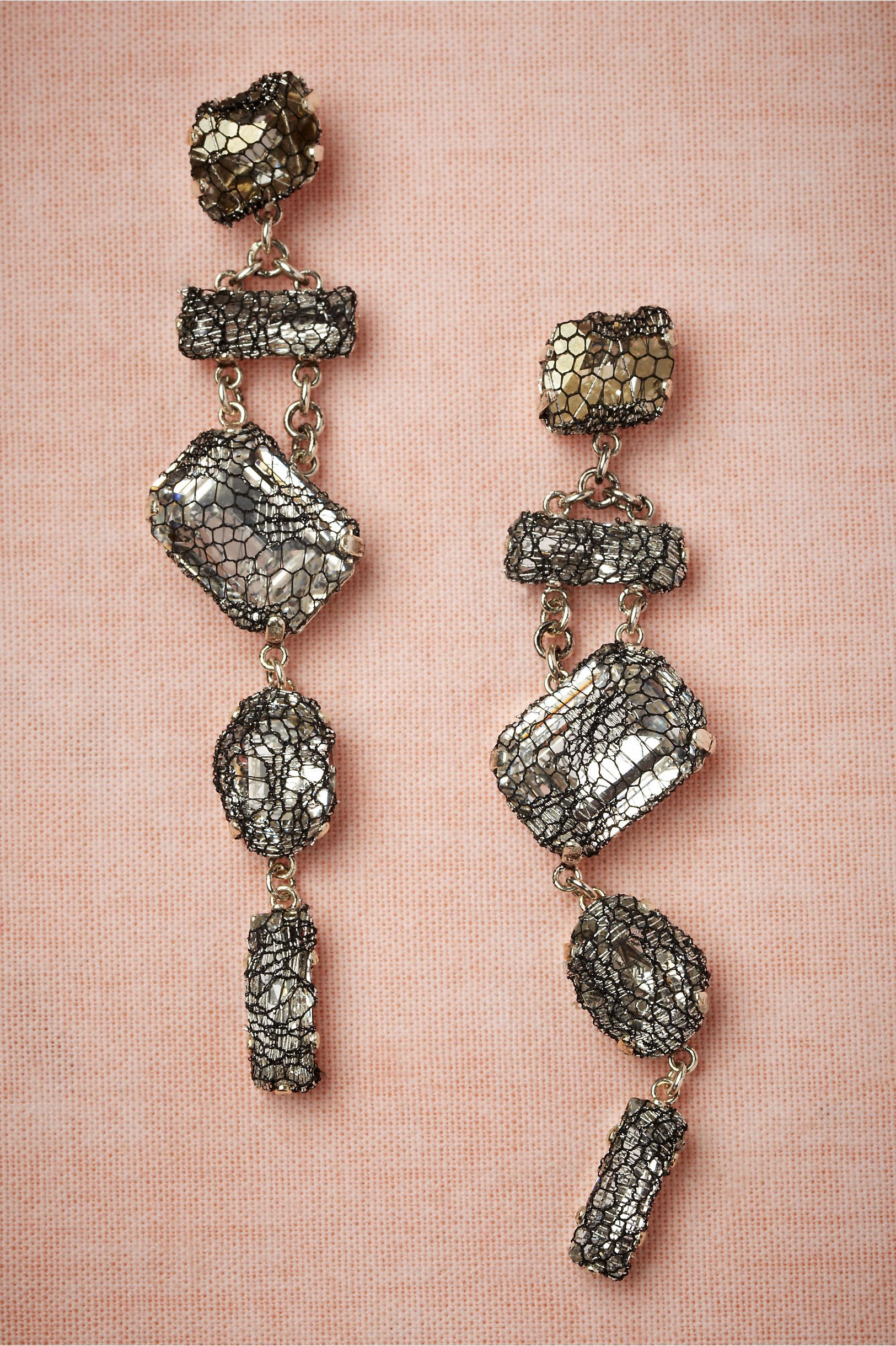 Smokeandmirrors earrings in shoes u accessories jewelry at bhldn