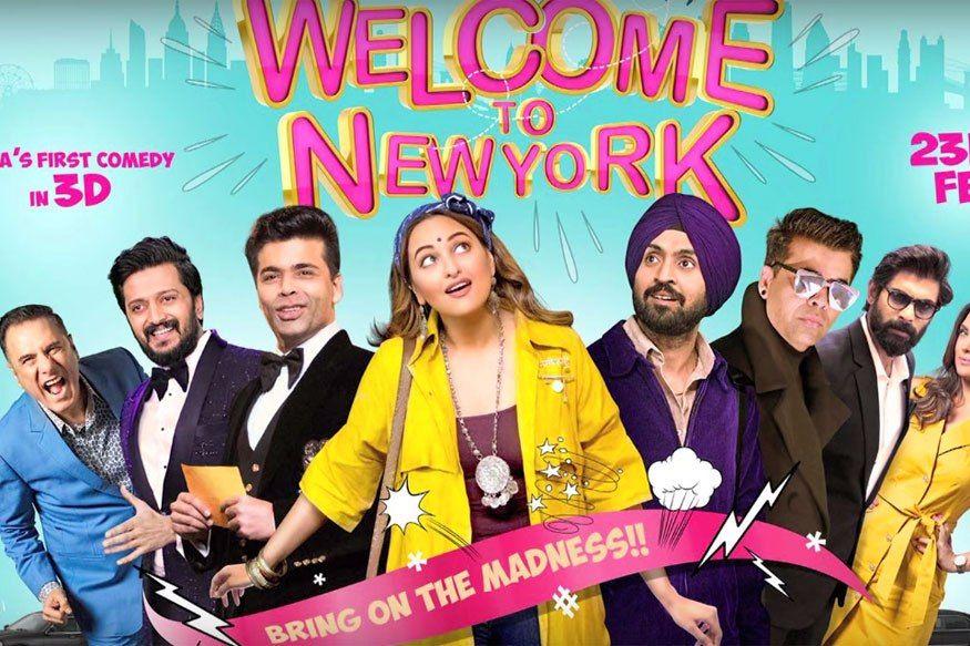 Diljit Dosanjh Karan Johar Salman Khan Sonakshi Sinha Welcome To New York