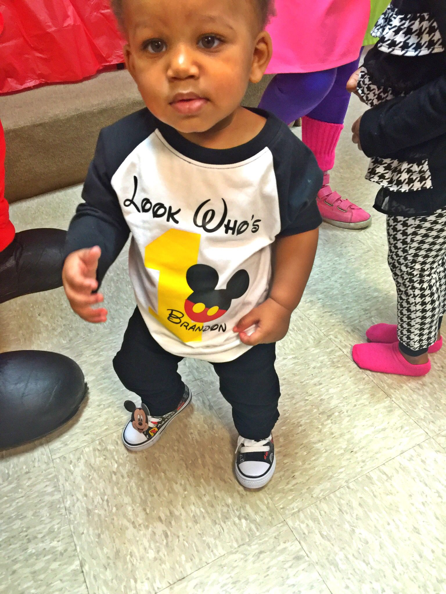 Birthday Boys Mickey Mouse Outfit