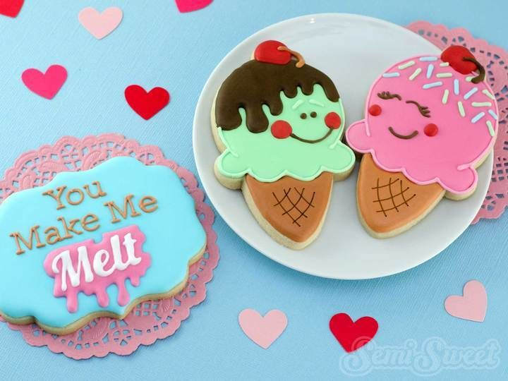 Super Sweet Ice Cream Cone Cookies