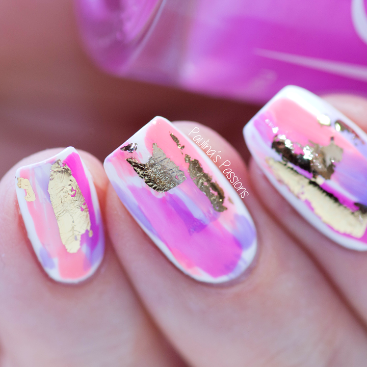 Easy No Tool Nail Art Abstract Strokes With Video Tutorial Re