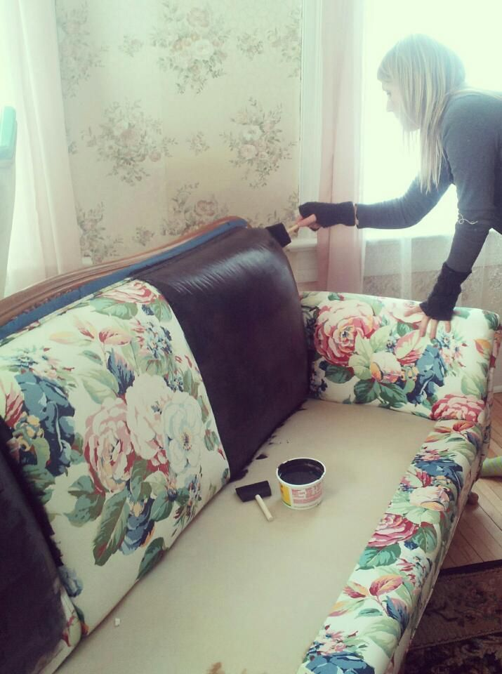 Couch Painting Relooking Canape Relooking De Mobilier Meuble