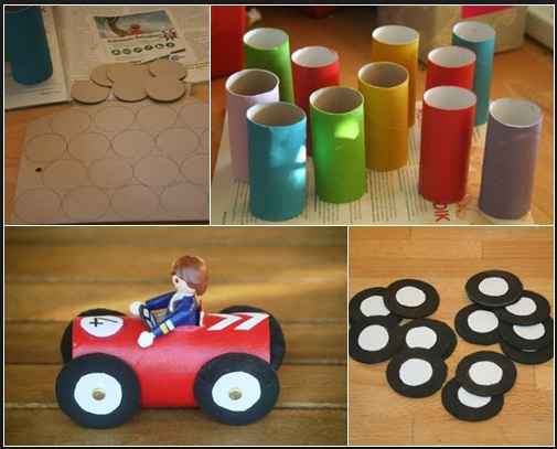 Ideas Y Manualidades Para Hacer Con Los Peques De La Casa Manualidadesinfantiles Manualidades Ninos Coche Fies Crafts Crafts For Kids Toilet Paper Crafts
