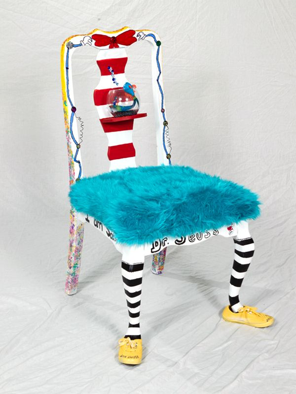 Dr Seuss Chair Sleeping In A Every Night Pin By Jamie Thompson On Suess Classroom Authors Living Color Painted Chairs Old Wooden Antique