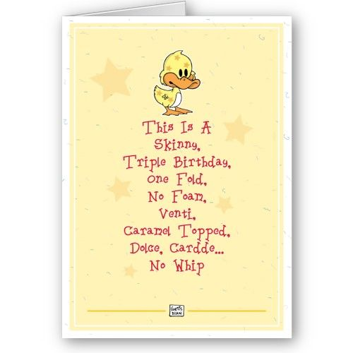 Funny birthday card sayings http