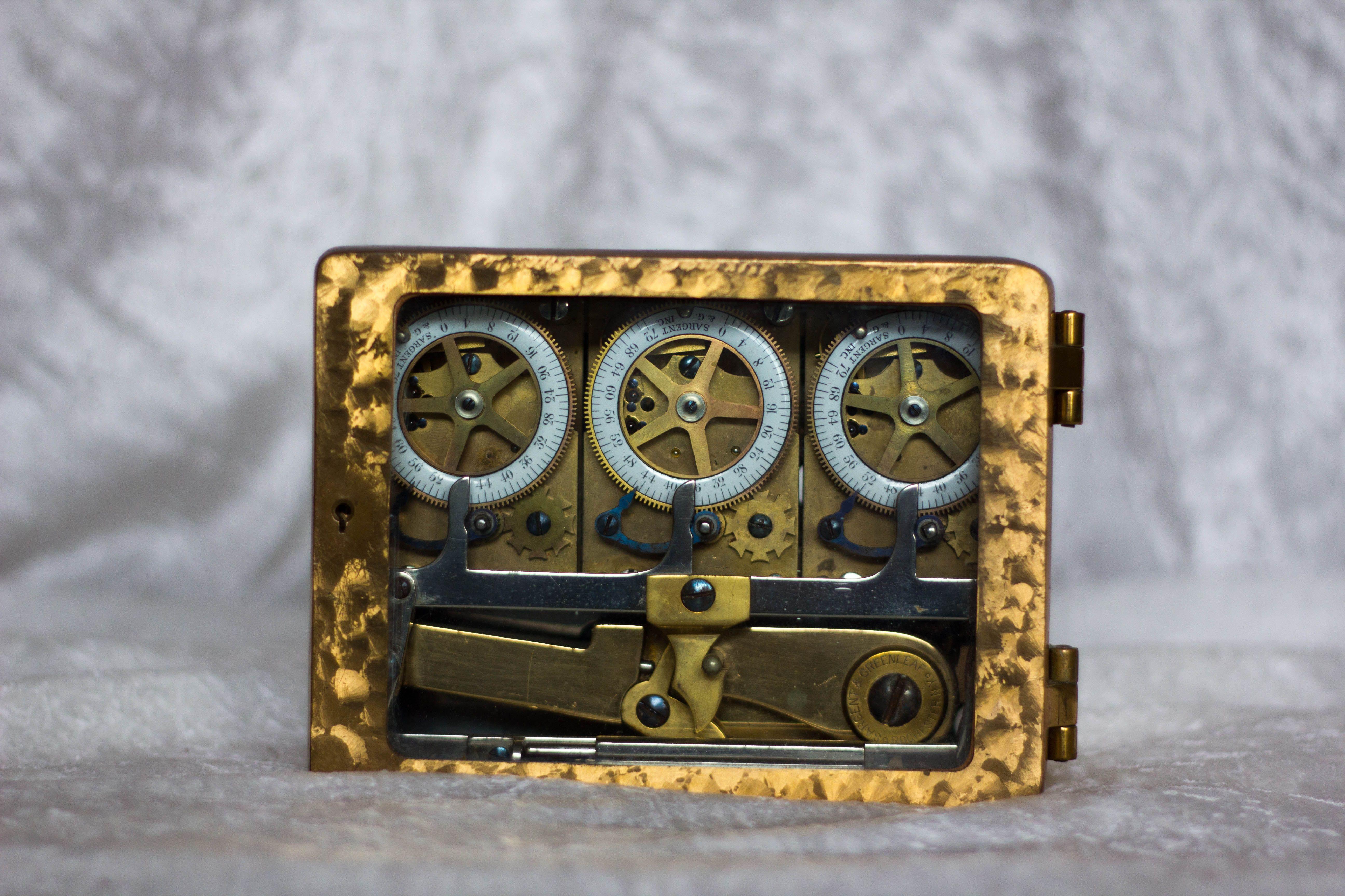 Sargeant U0026 Greenleaf Rochester, NY Triple Clock For Vault