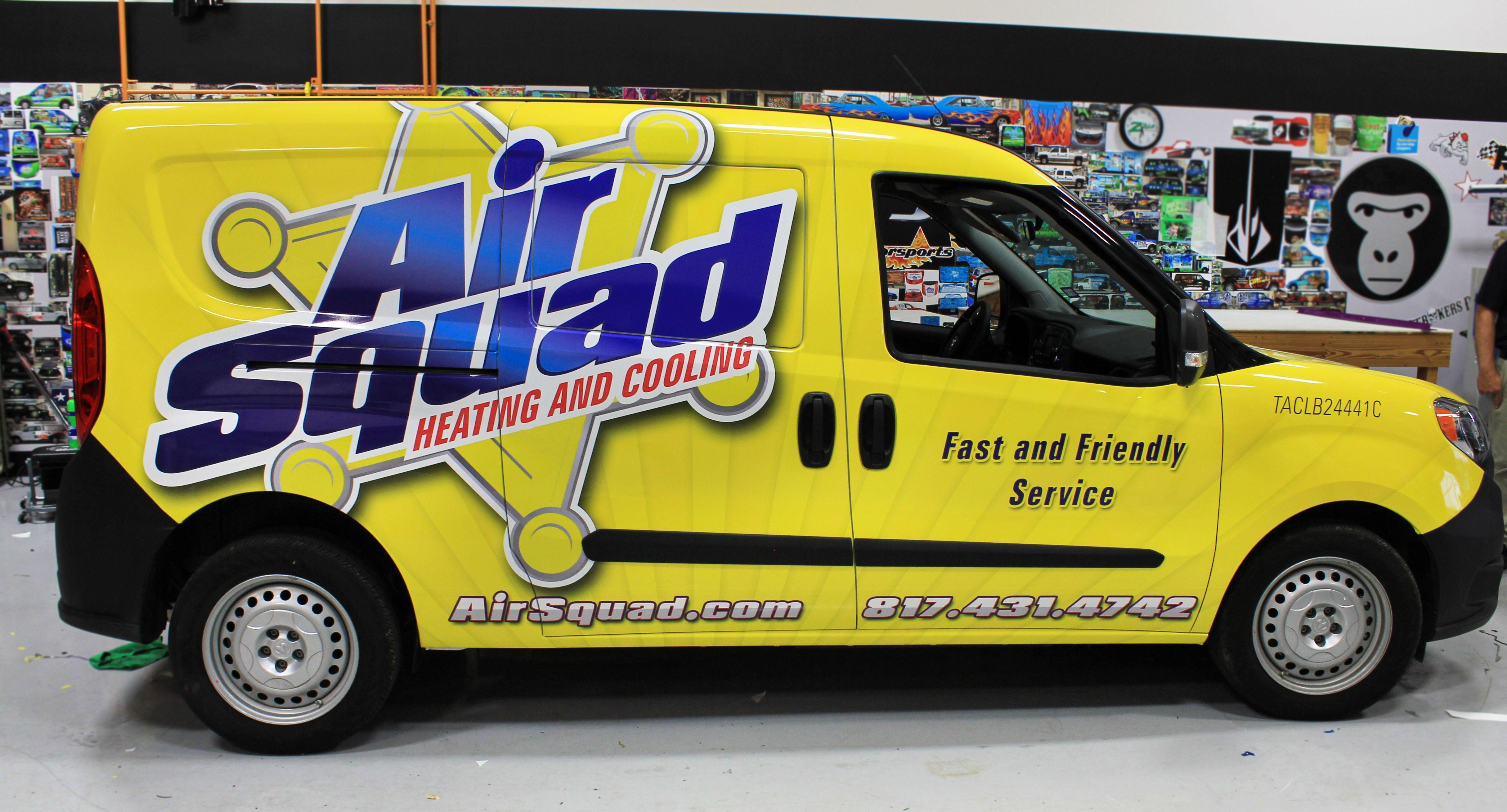 Air Conditioning van ideas   Advertising Vehicle Wraps   Pinterest ...