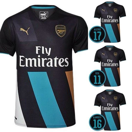 Puma Arsenal 3rd Kit 2015 2016