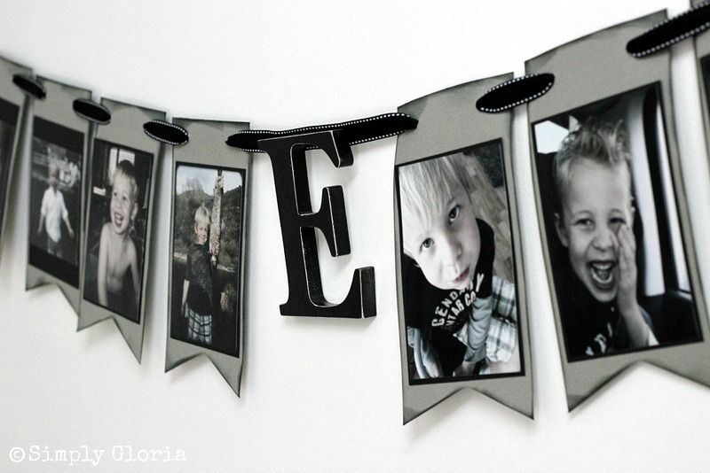 How To Make A Portrait Banner Banners Portraits And Celebrations