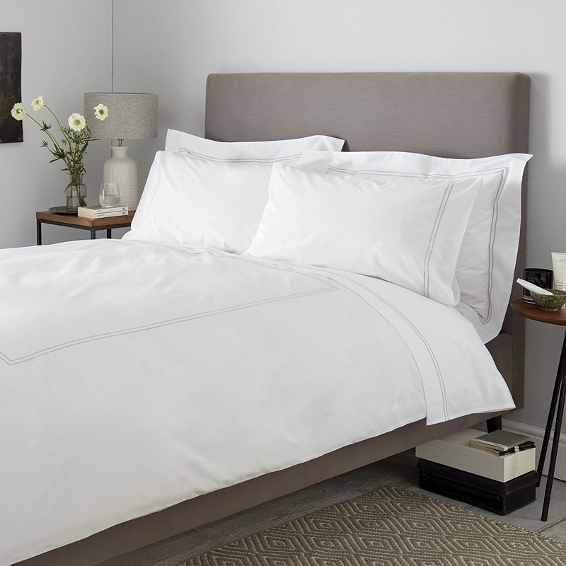 This Smart Collection Gives Our Bestselling Basic White Bed Linen