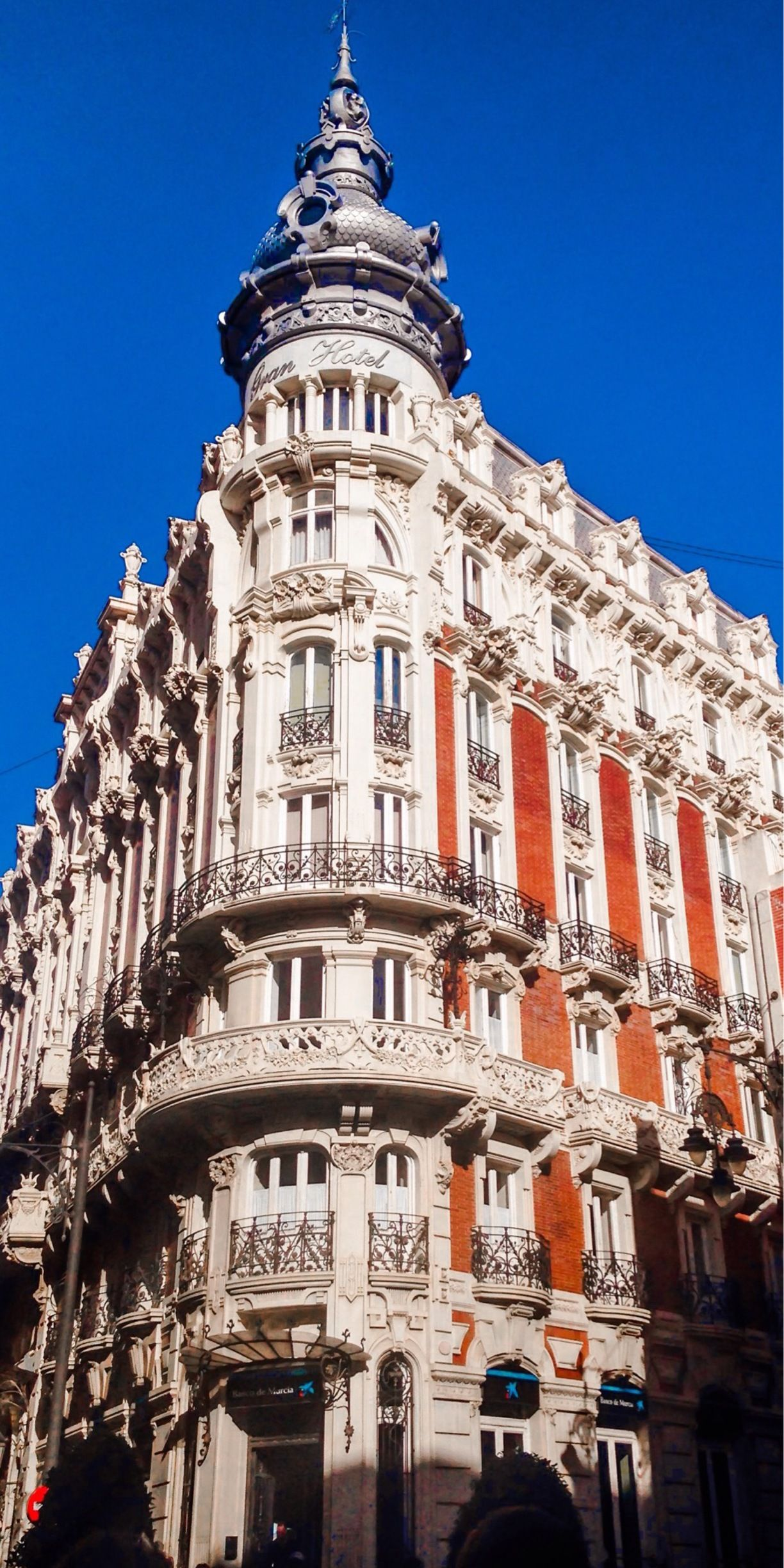 Edificio Gran Hotel Cartagena Spain Gorgeous Building Now Used As A Banco De