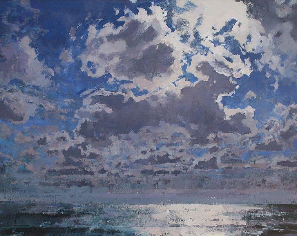 Patsy Farr Ocean Sky Ocean Sky Sky Landscape Paintings