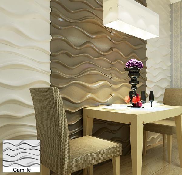 Decorative Wall Tile Panels Natural Bamboo 3D Wall Panel Decorative Wall Ceiling Tiles
