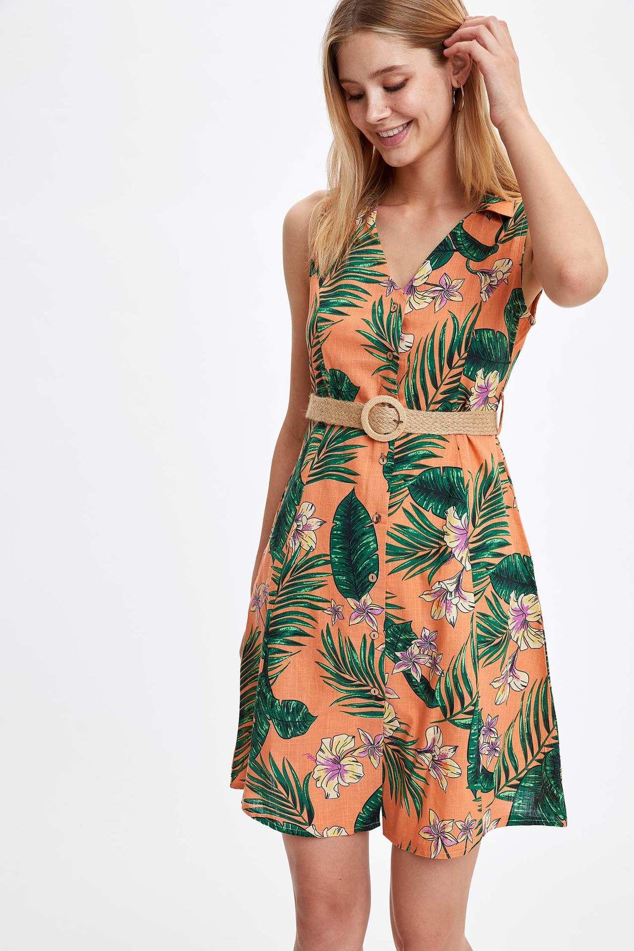 Defacto Indirim Adli Kullanicinin Indirim Panosundaki Pin 2020 Gomlek Elbise The Dress Moda Stilleri